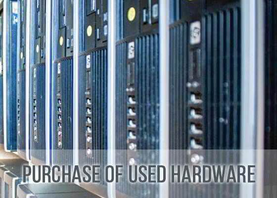 purchase of used hardware