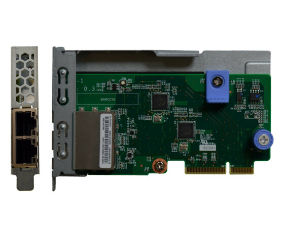 Lenovo 7ZT7A00544 - Internal - Wired - PCI Express - Ethernet - 1000 Mbit/s - Green,Metallic