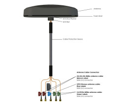 A-MiMo-0001 MiMo-1 High Performance 5-in-1 MiMo Antenne