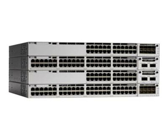 Cisco Catalyst C9300-48P-E network switch Managed L2 / L3 Gigabit Ethernet (10/100/1000) Gray Power over Ethernet (PoE)