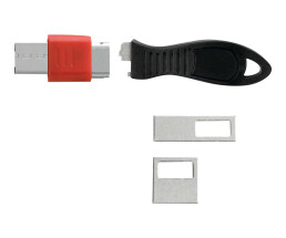 Kensington K67913WW - Black,Red - Flat key - 1 pc(s)