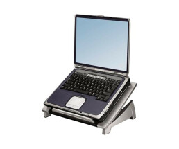 Fellowes Laptop Riser - Notebook Stand - Black, Silver
