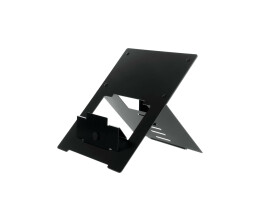 "R-Go Riser Flexible Laptop Stand - adjustable - black - Black - 25.4 cm (10"") - 55.9 cm (22"") - Aluminium - 5 kg - 135 - 220 mm"