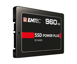 "EMTEC X150 Power Plus - 960 GB - 2.5"" - 520 MB/s - 6..."