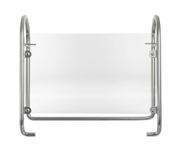 R-Go Steel Essential Monitor Stand - silver - Silver -...