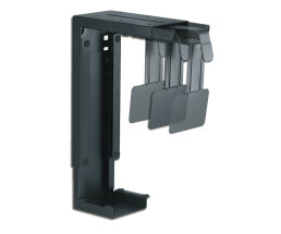 NewStar CPU desk mount - Desk-mounted CPU holder - 30 kg - Black - Taiwan - 220 mm - 80 - 220 mm