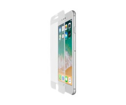 Belkin ScreenForce - Clear screen protector - Mobile phone/Smartphone - Apple - iPhone 8 Plus / 7 Plus - Scratch resistant - Transparent,White