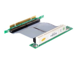 DeLOCK Riser card PCI 32 Bit with flexible cable left...