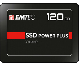 EMTEC X150 Power Plus 3D NAND - 120 GB SSD - intern -...