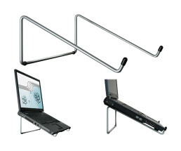 R-GO Steel Basic - Notebook Stand - Silver
