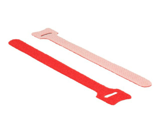 Delock 18689 - Red - 12 mm - 15 cm - 10 pc(s)