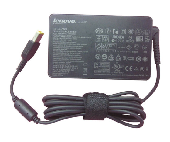 Lenovo 65W Slim AC Adapter (Slim Tip) - Power Supply 65 W Notebook Module - AT