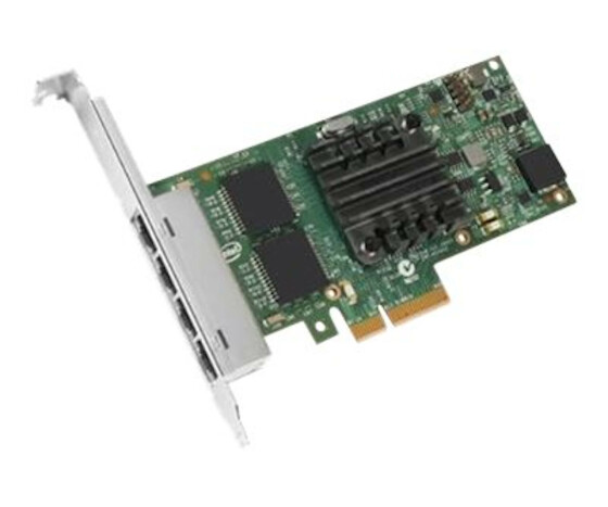Intel I350 QP - Netzwerkadapter - PCIe Low-Profile - Gigabit Ethernet x 4 - für EMC PowerEdge R230, R330, R430, R540, R640, R740, R830; PowerEdge FC430, FC830, R420, VRTX