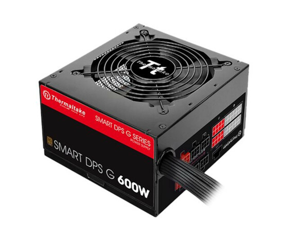 Thermaltake SPG-600DH2CCB - 600 W - 100 - 240 V - 720 W - 47 - 63 Hz - 9 A - Active