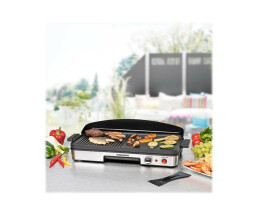 Rommelsbacher BBQ 2003 - Grill - Electric - 1250 Qcm