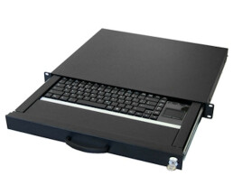 Aixcase AIX-19K1UKUSTP-B - Wired - USB - QWERTY - Black