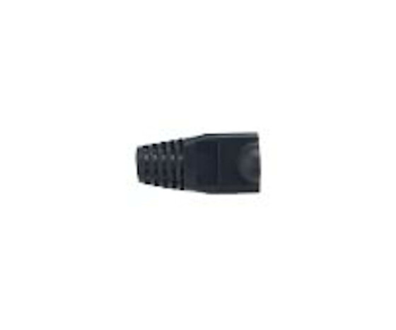 equip dust protection for RJ45-St. 100 St. black - Cable boat - RJ-45