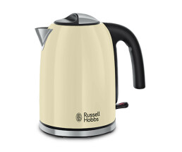 Russell Hobbs 20415-70 kettle Colors Plus + Classic Cream...