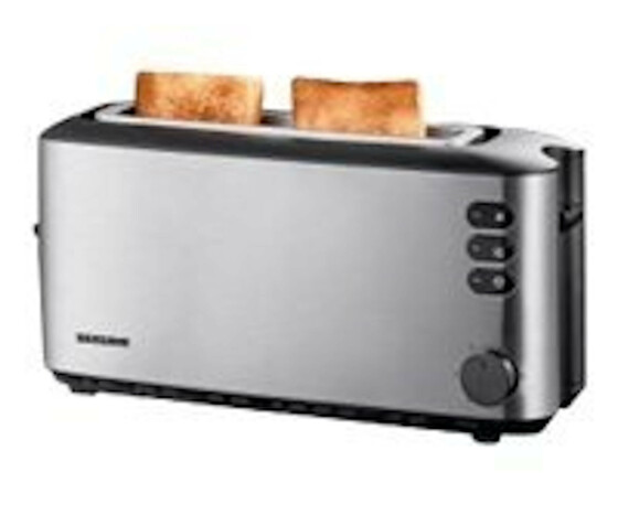 SEVERIN AT2515 - 2 slice(s) - Stainless steel - 1000 W - 126 x 371 x 182 mm
