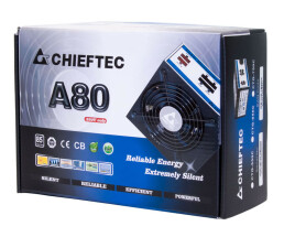 Chieftec 750W A-80 Series CTG-750C - Power Supply - 750 W