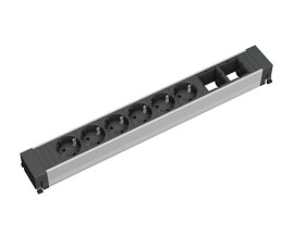 Bachmann 909.009 - 6 AC outlet(s) - Black,Silver