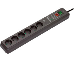 Brennenstuhl surge protection Secure-Tec - Power Strip - 3 m