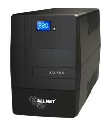 ALLNET ALL91500T - 1500 VA - 900 W - 162 V - 290 V - 50/60 Hz - 220 V