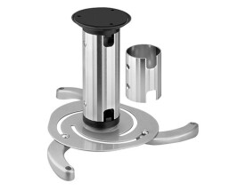 NewStar projector ceiling mount - Ceiling - 15 kg - Silver - 80 - 150 mm - 360° - 360°