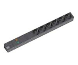 Bachmann 333.536 - Basic - 1U - Black - 6 AC outlet(s) -...