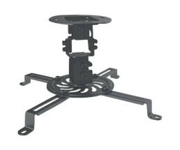 Manhattan Projector Ceiling Mount - Max 13.5kg - Black - Ceiling - 13.5 kg - Black - -15 - 15° - 360° - -15 - 15°