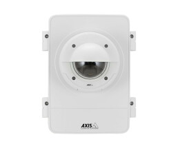 Axis T98A17-VE - Housing & mount - Outdoor - Stainless steel,White - Polycarbonate,Stainless steel - IEC 60529 IP66 - NEMA 250 rating Type 4X - IEC 62262 IK10 - AXIS T98A18-VE - UL 50E - IEC/UL/EN... 282 mm