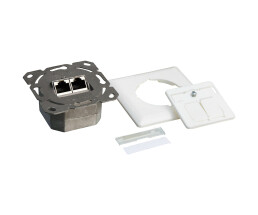 LogiLink - junction box, flush-mounted - suitable for...