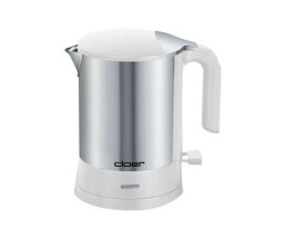 Cloer 4891 - 1.2 L - 2200 W - Stainless steel,White -...