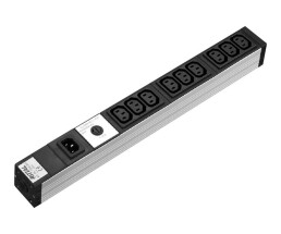 Rittal DK 7240.201 - 9 AC outlet(s) - Indoor - C13...