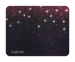 LogiLink Mouse Pad Outer space - Mauspad - Metallic-Effect