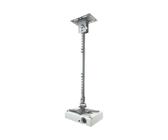 NewStar projector ceiling mount - Ceiling - 15 kg - Silver - 580 - 830 mm - 360° - 360°
