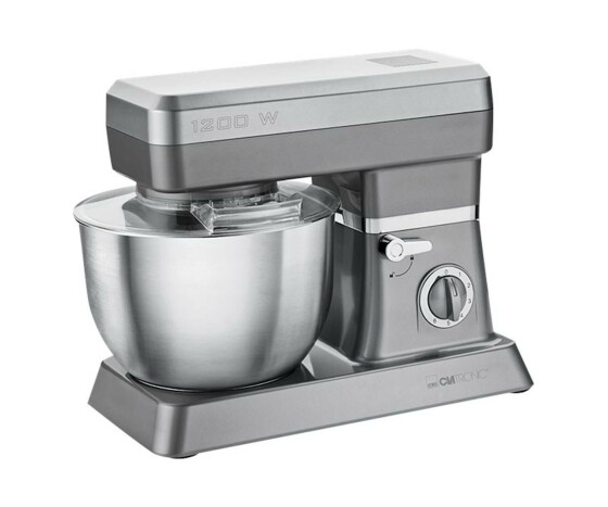 Clatronic KM 3630 - Stand mixer - Titanium - - - Y - 6.3 L - Stainless steel - 1200 W