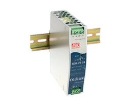 Meanwell MW SDR-75-48 - switching power supply mounting rail 75 W 48 V 1.6 A - 77 W - 88 to 264 V