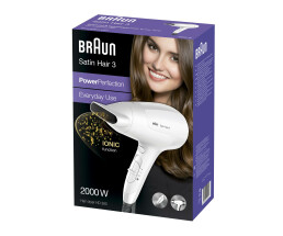 Braun Satin Hair 3 HD 380 PowerPerfection - Föhn