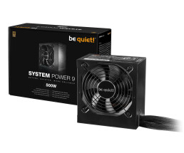 Be Quiet! System Power 9 - 500 W - 200 - 240 V - 50 Hz - 4 A - Active - 110 W