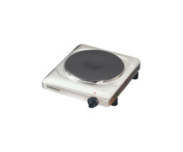 ROMMELSBACHER THS 2022/E - Black,White - Countertop - Sealed plate - 1 zone(s) - 1 zone(s) - 2000 W