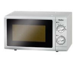 Amica MW 13152 Si - 700 W - Rotary - Silver - Pull-out -...
