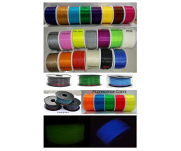Synergy 21 3D filament ABS / Changing color / 3MM / Green...