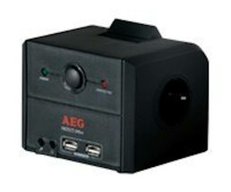 AEG Protect Office - 3 AC outlet(s) - 230 V - 50 - 60 Hz...