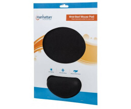 Manhattan Wrist-Rest Mouse Pad - Gel material promotes...