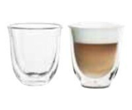 De Longhi Double-walled thermal glass Cappuccino 2 pieces