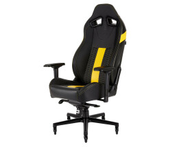 Corsair T2 Road Warrior - Black,Yellow - Foam - Hard...