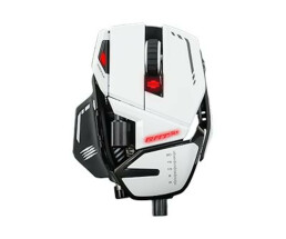 MAD CATZ R.A.T.8 + - Mouse - Optical - 11 Buttons - Wired...