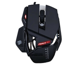 Mad catz r.a.t.4 + - mouse - optical - 9 buttons