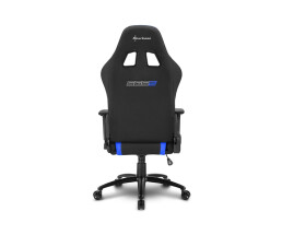 Sharkoon SKILLER SGS2 - PC gaming chair - 110 kg - Padded seat - 185 cm - Black - Stainless steel